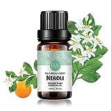 Neroli Ätherisches Öl 100% Reines Ätherisches Öl Aus Organischer Pflanze Natrual Flower Ätherisches Öl für Diffusor Nachricht Hautpflege Schlaf - 10ML