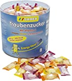 Sadex Traubenzucker Dose einzelverpackte Bonbons mit Vitamin C 650g