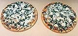 Pizzaplatte Pizzastein Backofenplatte 60 x 30 x 3 cm echte Schamotteplatte Flammkuchen Platte Deutsche Profi-Qualität Schamott Schamotte Kamin Kaminofen incl. Anleitung