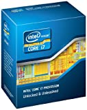 Intel Core I7-2600K LGA1155 Desktop boxed Prozessor (8M Cache, up to 3,80 GHz, 3400MHz)