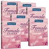 Frauenkondom 'Femidom' (latexfrei) 6x3 Stück Vorteilspackung