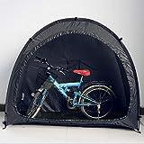 Fahrrad Zelt Fahrrad Aufbewahrungsschuppen,Wasserdichtes Fahrrad Fahrrad Aufbewahrungszelt,Fahrrad Aufbewahrung Schuppen mit Fenster Design für Outdoor Camping