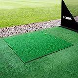 FORB Golf Driving Range Übungsmatte – 30mm Golf Kunstrasen – 150cm x 150cm ohne Gummiunterlage