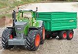 WIM-Modellbau RC Traktor FENDT 1050 + Anhänger in XL Länge 74cm Ferngesteuert