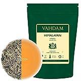 VAHDAM, kaiserliche weiße Teeblätter (25 Tassen) - Der gesündeste Tee der Welt - LEISTUNGSFÄHIGE ANTI-OXIDANTEN, Hochgelegenes Gewächs, weiber tee lose - detox tee zum abnehmen, 50gr
