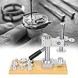 ZWWZ Professionelle Uhr Press-Set, Uhrpresse, Watchmaker-Uhrenbatterie Ersetzen Sie den CXHE-Deckel-Reparatur-Tool MISU