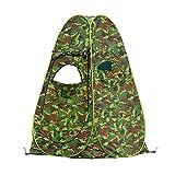 thematys Zeltschirm Jäger-Zelt Jagd-Zelt Camouflage in 2 verschiedenen Designs - Tarn-Zelt ohne Boden - perfekt für die Jagd im Wald (Style 2)