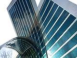 Photovoltaik Modul | BLAU | Transparent | Solarfolie | OPV PV Solar | Organic Photovoltaic