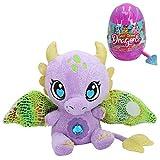 Baby Gemmy Dragons 44888 Riesige Überraschungseier, Drache, ausklappbare Flügel mit Klettverschluss, 6 Verschiedene Modelle/Farben