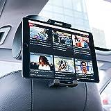 Lamicall Tablet Halterung Auto, Universal Tablet Halterung : KFZ-Kopfstützen Halterung für Pad Air Mini 2 3 4, Pad 2019 Pro 9.7, 10.2, 10.5, Samsung Tab, Smartphone und Tablet mit 4.7-13 Zoll -Schwarz