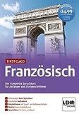 First Class Französisch: Der komplette Sprachkurs für Anfänger und Fortgeschrittene / Paket: 4 CD-ROMs + Audio-CD