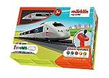 Spielzeugeisenbahn Märklin my world 29306 - Startpackung 'TGV', SNCF, Modelleisenbahn Spur H0, Startset für Kinder ab 3 Jahren