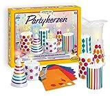 Sentosphere 3902359 Kreativ Kit Partykerzen (D), Bastelset