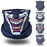 Joker schwarz helloween Verkleidung Gesichtstuch tuch multifunktionsmaske multifunktionsbekleidung multifunktionskleidung kopftuch kopfband funktionsmaske funktionsbekleidung funktionskleidung