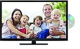 Lenco DVL-2862 28 Zoll (70cm) LED-Fernseher mit DVD-Player - Triple-Tuner (DVB-T/T2/S2/C) - 12 Volt Kfz-Adapter - Mit HDMI, USB SCART und CI+ Anschluss - Fernbedienung - Schwarz, 28 Zoll - schwarz