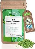 Gerstengras Pulver Bio 1000g I direkt aus Bayern I Gerstengraspulver - Vegan und Rohkostqualität I DE-ÖKO-001 I 1kg