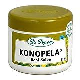 Hanf Salbe Konopela von Dr. Popov, 50ml, aus Cannabis Seed Öl