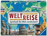 Ravensburger 26332 - Weltreise- Familienklassiker ab 8 Jahren - Gesellschaftspiel, Reise einmal um die Welt, Reiseplanung für bis zu 6 Spieler - über 170 Städte