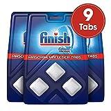 Finish Maschinenpfleger Tabs, Spülmaschinenreiniger, 9 Tabs (3 x 3 Tabs)