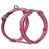 Embark Illuminate Reflektierendes Hundegeschirr, einfaches An- und Ausziehen, kein Würgen, Hundegeschirr, kann aus allen Winkeln gesehen werden, Hundegeschirre für die meisten Rassen (klein, rosa)