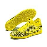 Puma Herren Future 4.4 IT Futsalschuhe, Gelb (Yellow Alert-Puma Black), 44 EU