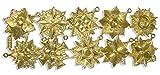 Kunze A072190011 Orden Medaillen Set, 10 Stück, Geprägtes Papier, Gold