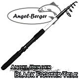 Angel-Berger Black Fighter Tele Teleskoprute Spinnrute (2.40m)