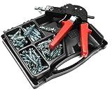 Hohlraumdübel Set, Hohlraumdübelsatz mit Zange, 71 Hohlraumdübeln in 4 Größen M4 / M5 ! Praktisch für jeden Haushalt!