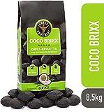 Grill Republic Kokos Briketts Grillbriketts Kokoskohlen für Den Kugel- und Standgrill | Nachhaltig, Hoher Heizwert und 3X Längere Brenndauer | 8,5kg …