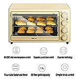 Digitale Ofen, Manuelle Solo-Mikrowelle Mit 6 Leistungsstufen, Soft-Touch-Gehäuse Und Mattem Finish 1600 Watt, 30 Liter, Pink