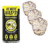 Luigi's Wespennest Attrape [3 Stück] - Wespenschreck ohne Giftstoff - Waspinator gegen Wespen