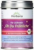 Herbaria 'Oh Du Fröhliche' Gewürz für Glühwein oder Punsch, 1er Pack (1 x 70 g Dose) - Bio