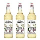 Monin Sirup Holunderblüte, 1,0L, 3er Pack