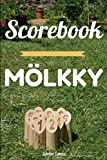 Score Card for the Molkky: Score sheets for the Molkky - 120 pages of score to complete - Outside format 6 X 9