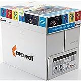 Farblaserpapier, Kopierpapier, Mondi-Papier, 90g/m², 2,500Blatt, 1 Box, A4