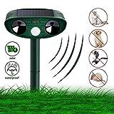 Sylanda Katzenschreck Ultraschall Solar, Katzen Vertreiben Abwehr Tierabwehr, Vogelschreck Katzenschreck Hundeschreck Marderschreck für Garten