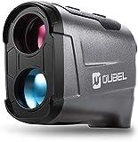 OUBEL Golf Entfernungsmesser/Jagd Entfernungsmesser, 800 Yards/731 m Laser Entfernungsmesser mit Neigungsberechnungsfunktion, Fahnenmastverriegelung, Vibration, kontinuierliche Messfunktion (Grau)