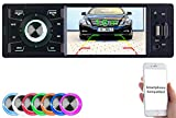 Creasono Autoradio 1 DIN: MP3-Autoradio mit TFT-Farbdisplay, Bluetooth, Freisprecher, 4X 45 Watt (Autoradio mit Display)