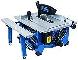 Scheppach Tischkreissäge HS80 (1200W, Sägeblatt Ø 210mm, Schnitthöhe 48mm, Tischgröße 525 x 400 mm) inkl. Längs- und Queranschlag