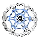 160mm Fahrrad Scheibenbremse Bremsscheibe MTB Scheibenbremse blau
