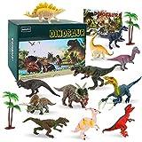 BeebeeRun Dinosaurier Spielzeug für Kinder,15 Stück Dinosaurier Figuren Set,Dinosaurier Spielzeug ab 3 4 5 6 7jahren,pädagogisches Spielzeug für Jungs Mädchen