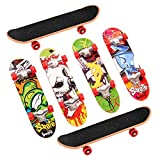 THE TWIDDLERS 12x Fingerskateboard Set & Fingerboard in 12 für Kinder – Ideal für Weihnachten Mitgebsel, Kleinspielzeug Mix Beutel Kindergeburtstag, Party Favours