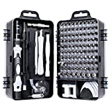 Schraubendreher Set Feinmechanik, Mini Pentalobe Schraubendreher 115 In 1 Kit für Phones/Laptop/Tablet/Uhren/Kamera/Brillen/Elektronik Tool Reparatur Set