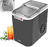 Eiswürfelmaschine Ice Cube Maker Eismaschine   Eiswürfelbereiter   Ice Maker   12 Kg Eiswürfel   Eiswürfel in nur 10 Minuten   2,2 L