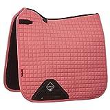 LeMieux Prosport Dressur-Schabracke aus Wildleder, quadratisch M Blush Pink