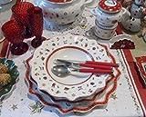 Villeroy &Boch set 18pcs 'Toy's delight ' White composed from 6 dinner dishs 27cm- 6 deep plates 25cm- 6 dessert plates 24cm