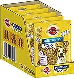 Pedigree Dentastix Chewy Chunx Zahnpflegesnacks für kleine Hunde von 5-15 kg, mit Huhn, 5 Packungen (5 x 68 g)