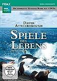 Spiele des Lebens (Trials of Life) / Die komplette 12-teilige Reihe von und mit Sir David Attenborough (Pidax Doku-Highlights) [4 DVDs]