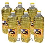 6er Pack 100% Erdnuss-Öl [6x 1000ml] Erdnussöl ~ Peanut Oil ~ Wok Öl