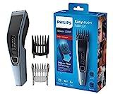 Philips HC3530/15 Haarschneidemaschine für Zuhause mit 13 Längeneinstellungen, Kammaufsatz, verstellbarem Bartkamm und 75min Akkulaufzeit - kabellos verwendbarer Haarschneider